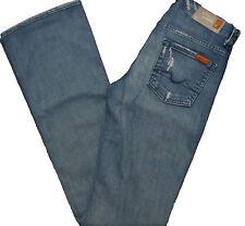 7 for All Mankind Jeans Womens High Waist Bootcut Demin Ap344y756 24x33