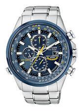Sportliche Quarz-Armbanduhren (solarbetrieben) mit Chronograph und mattem Finish