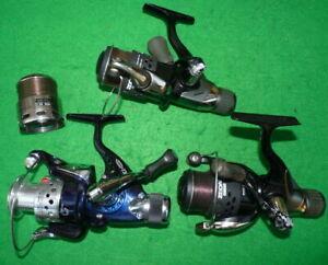 3 rear drag spinning reels, 2 x Okuma + 1 spare spool ,1x Fladen,spinning, fl...