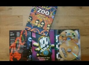 Coffret DVD concert u2 Zoo Tv Live From Sidney