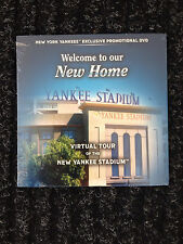 Virtual Tour of The New Yankee Stadium DVD - New in Wrapper