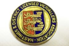 Vintage Bronze Badge of the Hastings & District Victuallers Association