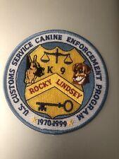 US  Police -  USC K9 Enforcement Program 1970-1999   DC Police  Patch