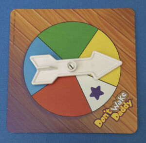 2001 Milton Bradley Don't Wake Daddy Board Game - Replacement SPINNER ONLY