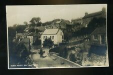 ROBIN HOOD'S BAY Yorkshire  The Old Town  horse with paniers going up Hill  RP