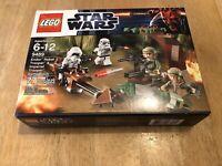 Lego Star Wars Scout Storm 9489 ENDOR REBEL TROOPER Battle Pack Speeder Bike NEW