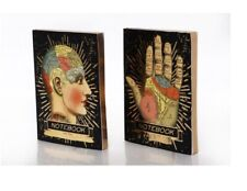 Phrenology and Palmistry Notebook - A6 Size Journal