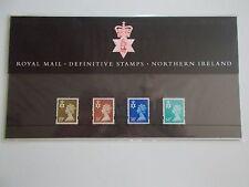 1999 Regional Machins Northern Ireland 19p to 64p Presentation Pack no47 Cat £17