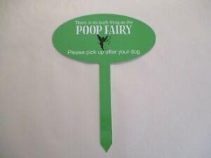 Yard Garden sign Humorous Funny No Dog Poop Sign