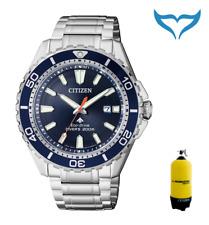 Citizen ProMaster Eco-drive bn0191-80l reloj Náutico señores reloj 20bar Acero inoxidable NUEVO