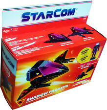 StarCom Shadow Parasite Enemy Attack Fighter - Vintage 1986 - MISB New! AFA IT!!