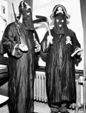 8x10 Print kkk Ku Klux Klan Two Black Legion Members #KK84