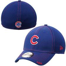 "Chicago Cubs ""C"" New Era Neo 39THIRTY Stretch Fit Flex Mesh Back Cap Hat 3930"