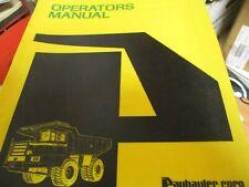 International Payhauler 330 340 Off Highway Truck Operators Manual