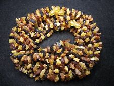 Lot 10 Natural Raw Baltic Amber Baby Necklace Mix  Color 32-33cm