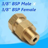 Pressure Washer Swivels Brass Hose Coupling Connector Tool 3/8''M x 3/8''F