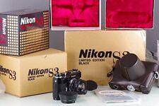Nikon Rangefinder S3 Black Limited Edition + Nippon Kogaku NIKKOR-S.C 1.4 50 New