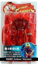 "Sota Toys STREETFIGHTER BIRDIE 6"" Capccom Video Game figure *RED variant* RARE"