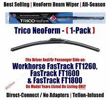 Qty 1 Super Premium NeoForm Wiper fits 2000-2001 Workhorse FasTrack FT1600 16160