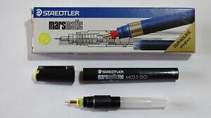 ------- STAEDTLER MARSMATIC DURAGLIDE J 709 0,35mm PROFILM -- BLACK PEN LIVERY