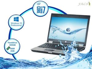 "HP EliteBook 8440p 14"" Intel Core i7 4gb RAM 300gb HD"