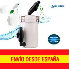 Sunsun Hw-603b filtro exterior completo de 400l/h 6W para acuarios