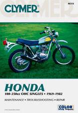 CLYMER REPAIR MANUAL Fits: Honda XL100,XL125,XL175,XL350,CT125,XL250,TL250,SL100