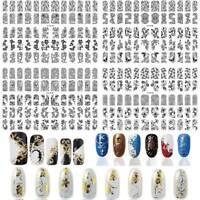 60pcs/sheet Manucure En Bricolage Décoration Nail Art Autocollants Fleurs 3D