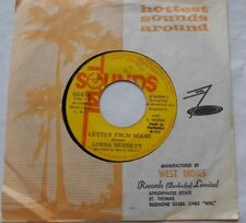 LORNA BENNETT Letter From Miami BARBADOS 1974 REGGAE 45 TOTAL SOUNDS