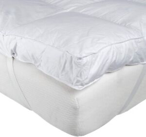 """10cm 4"""" Inch Mattress Topper Thick Extra Deep Luxury Hotel Quality Double Bed"""