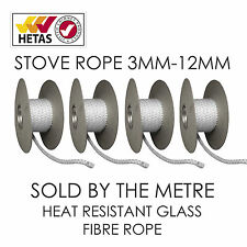 Heat Resistant Stove/Fire Rope For Woodburner/Log Burner M/Fuel Doors& Flue Seal