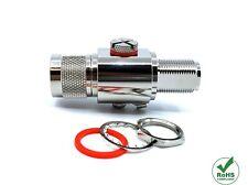 RF Coaxial Lightning Arrestor Surge Protector 3GHz N Male to N Female 230v 50ohm