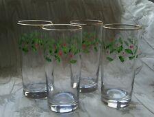 Lenox HOLIDAY 12 Oz Highball Glasses - Set of 4 -  FREE SHIPPING