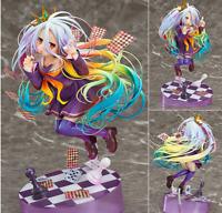 19CM NO GAME NO LIFE Shiro Playing cards 1/8 Scale Anime Manga Figure Figuren