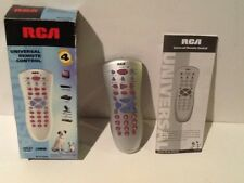 RCA Remote Control RCU410RS 4 Device Big Button Universal + instructions