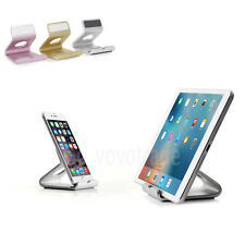 Aluminum Desk Mount Stand Holder For iPad 2 3 4 5 Mini Air Tablet iPhone 7 6 6S