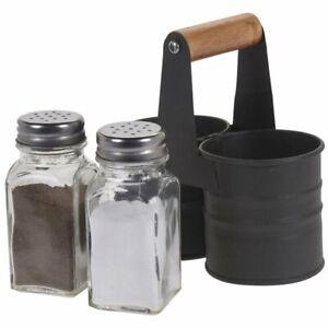 ORION Salz- und Pfefferstreuer / GEWÜRZSTREUER mit Ständer Gewürzdosen