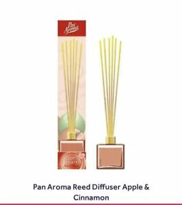 Reed Diffuser Apple & Cinnamon Sweet Spicy Scent Luxury Spa Weddings Gift UK