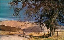 Postcard Ridge Route Highway 99 Grapevine Between Los Angeles & Bakersfield