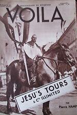 REPORTAGES PHOTOS VOILA 1934 JESUS TOURS & Co ILLIMITED JEUX D EMPIRE HITLER
