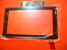 """TOUCH SCREEN +VETRO DISPLAY PER CLEMENTONI CLEMPAD 5.0 MY FIRST 13329 TABLET 7"""""""