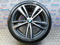 "BMW 3 4 Series Rear Alloy Style 442 M 19"" 8.5J Continental Tyre 6mm 7846781 *124"