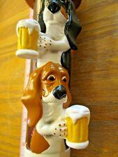 Beer Tap 2 Basset dogs Handle Brand New in Original Box