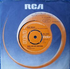 """ELVIS PRESLEY-THERE GOES MY EVERYTHING/I REALLY WANT TO KNOW """"U.K."""" 45 RPM 7"""""""