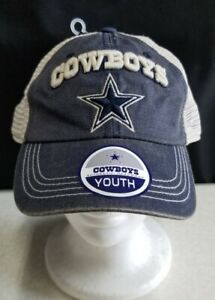 NFL Dallas Cowboys Authentic Headwear Mesh Snapback Cap Youth NEW WITH TAG