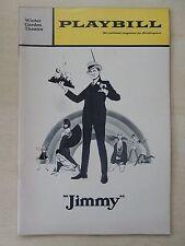 November 1969 - Winter Garden Theatre Playbill - Jimmy - Frank Gorshin