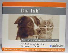 Alfavet Dia Tab für Hunde / Katzen 20 Kautabletten - Durchfall / Darm / Diätisch