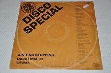 "Discoteca SPECIAL-Ain 't no stopping MIX'81 - 80er -12"" Maxi vinile disco LP"