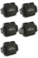 Lot of 5 Invicta One Slot Black Watch Collector Box IPM10 Free Shipping