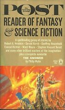 THE SATURDAY EVENING POST READER OF FANTASY & SCIENCE FICTION - 20 SHORT STORIES